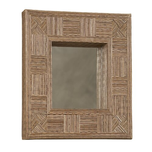 Linon Mosaic Coco Stick Rectangle Mirror