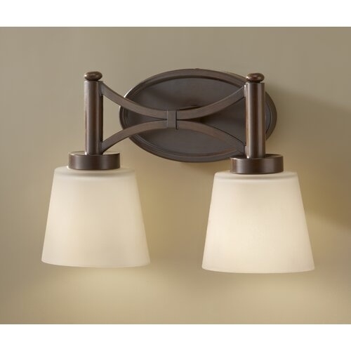 Feiss Nolan 2 Light Bath Vanity Light