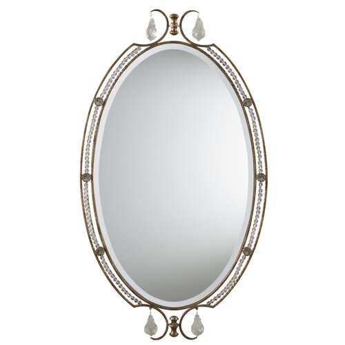 Feiss Valentina Crystal Accent Mirror