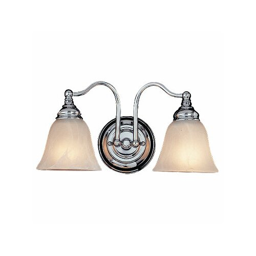 Feiss Bristol 2 Light Bath Vanity Light