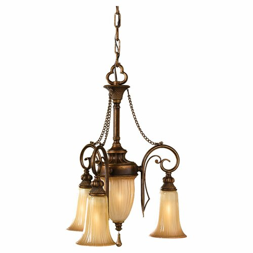 Feiss Celine 4 Light Mini Chandelier