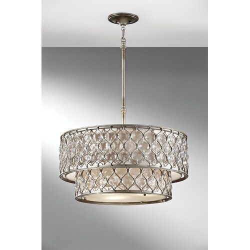 Feiss Lucia 6 Light Chandelier