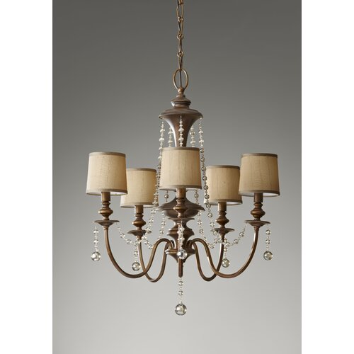 Clarissa 5 Light Chandelier