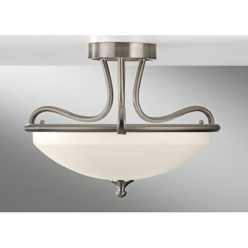Feiss Merritt 2 Light Semi Flush Mount
