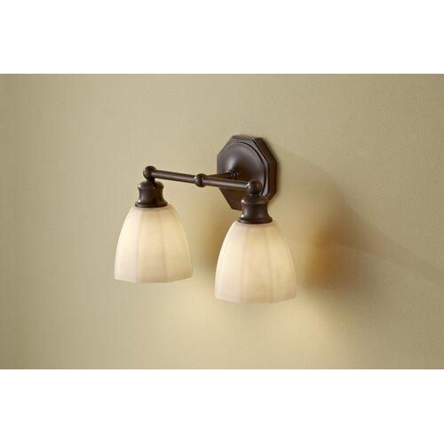 Feiss Nella 2 Light Bath Vanity Light