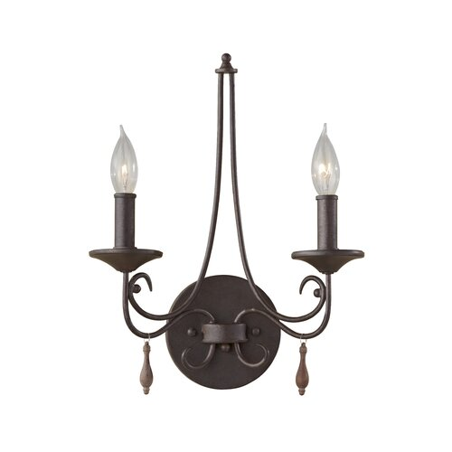 Feiss Aliya 2 Light Bath Vanity Light