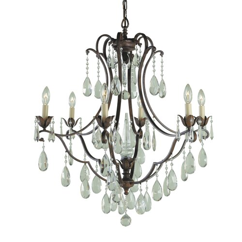 Feiss Maison De Ville 6 Light Chandelier