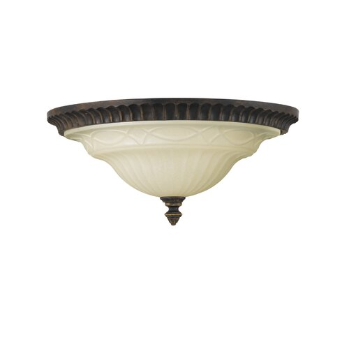 Drawing Room 2 Light Flush Mount