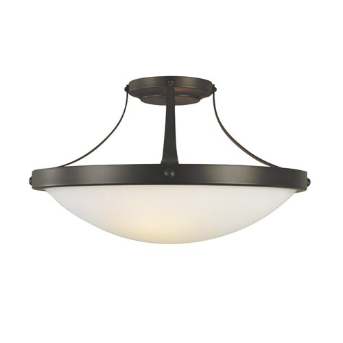 Feiss Boulevard Semi Flush Mount