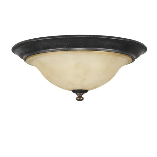 Feiss Cervantes 3 Light Flush Mount