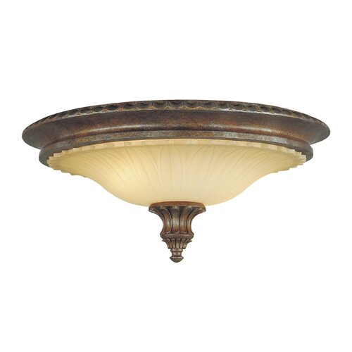 Feiss Stirling Castle 2 Light Flush Mount
