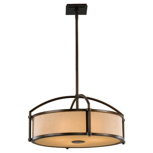 Feiss Preston 3 Light Drum Pendant