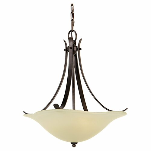 Morningside 3 Light Drum Pendant