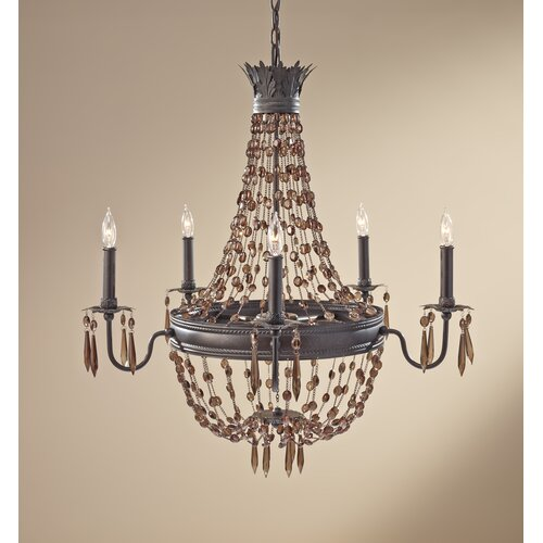 Feiss Marcia 5 Light Chandelier