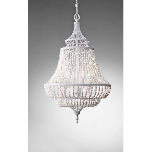 Feiss Maarid 4 Light Chandelier