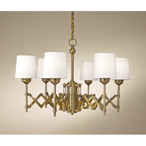 Feiss Hugo 6 Light Chandelier