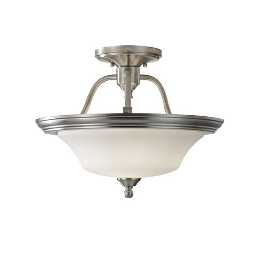 Feiss Cumberland 2 Light Indoor Semi-Flush Mount