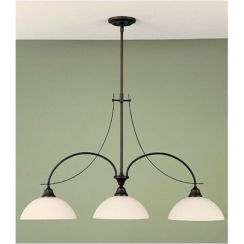 Feiss Boulevard 3 Light Kitchen Island Pendant