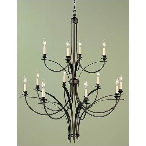Feiss Boulevard 12 Light Chandelier