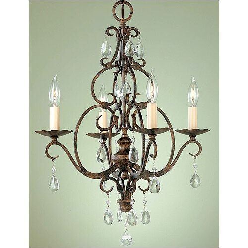Feiss Chateau 4 Light Mini Chandelier