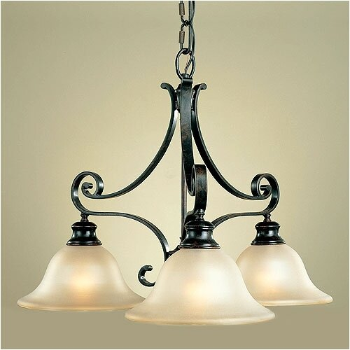 Feiss Cervantes 3 Light Chandelier