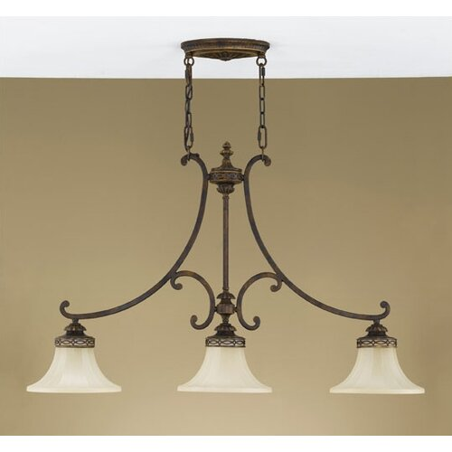Feiss Drawing Room 3 Light Down Chandelier
