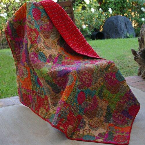 Greenland Home Fashions Jewel Cotton Throw