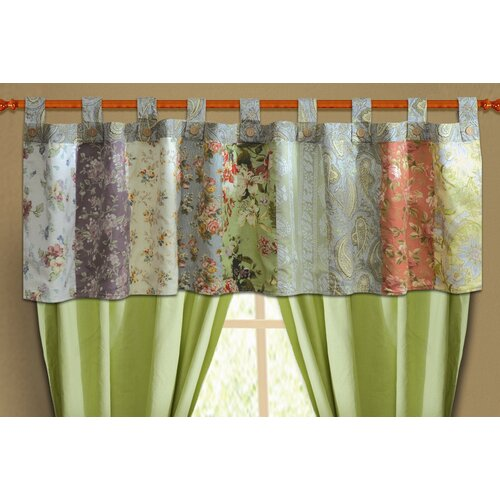 "Greenland Home Fashions Blooming Prairie 84"" Curtain Valance"