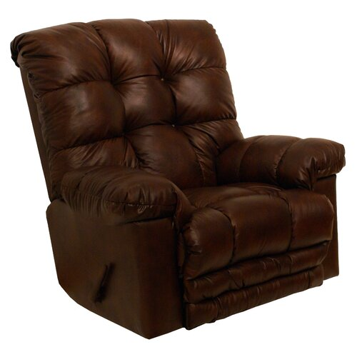 Catnapper Cloud Ten Leather Chaise Recliner