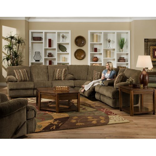 Harbor Chenille Reclining Sofa