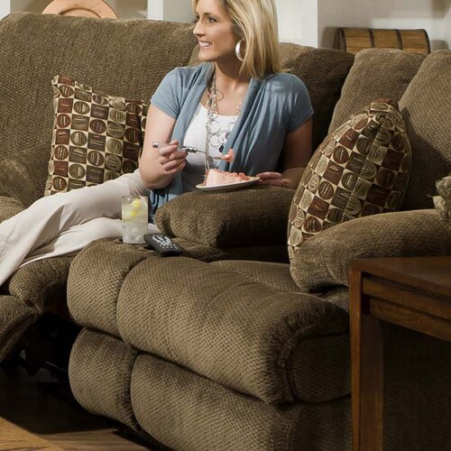 Harbor Chenille Reclining Loveseat