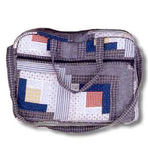 Patch Magic Sail Log Cabin Shoulder Bag