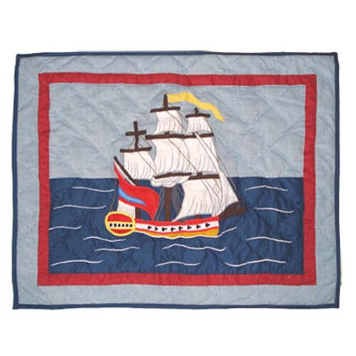 Ships Ahoy Pillow Sham