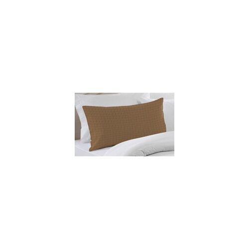 Brown Light Checks Pillow Sham
