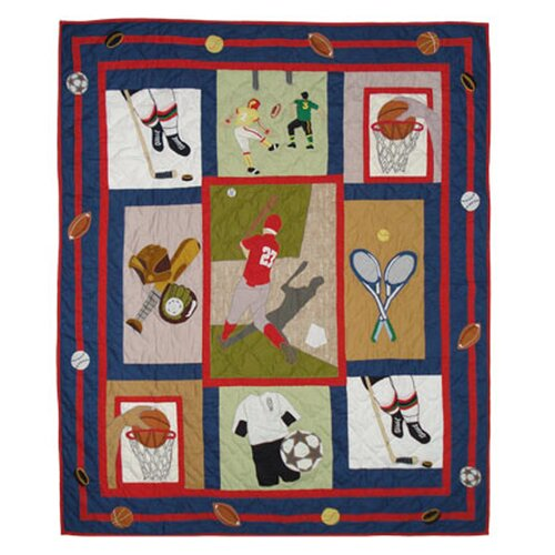 Play To Win Cotton Throw