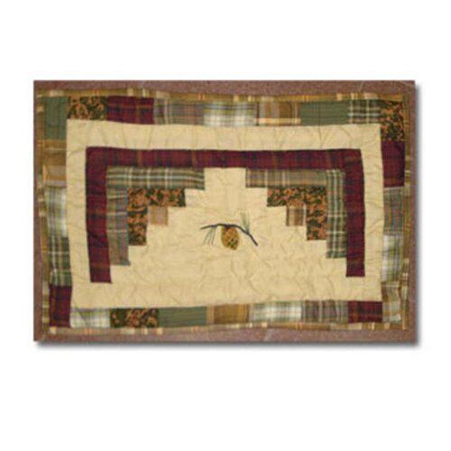 Patch Magic Forest Log Cabin Placemat