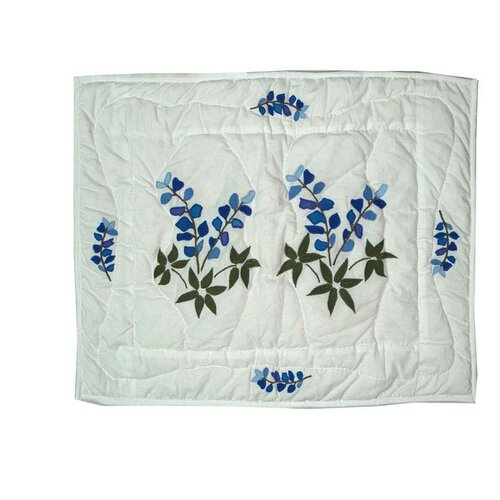 Patch Magic Blue Bonnets Pillow Sham