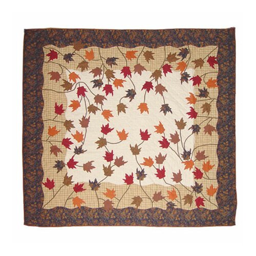 Patch Magic Autumn Leaves Quilt