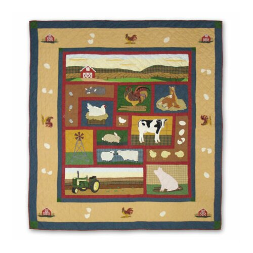 Patch Magic Barnyard Queen Duvet Cover / Comforter