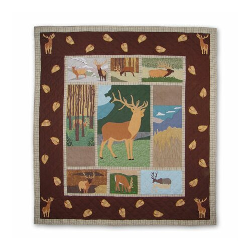 Patch Magic Brown Elk Quilt