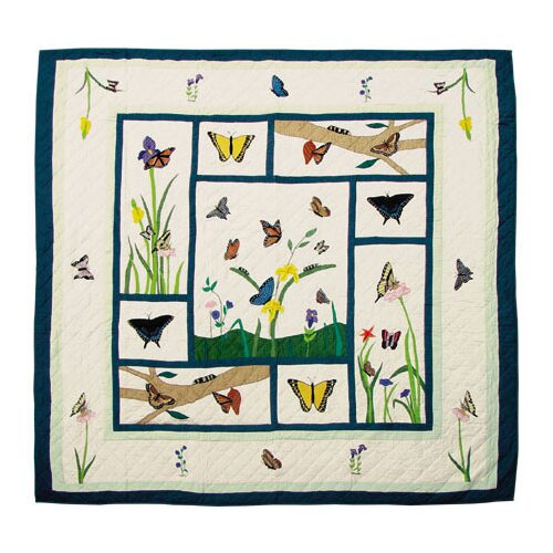 Patch Magic Butterfly Kisses Quilt
