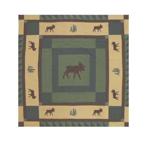 Patch Magic Cedar Trail Cotton Shower Curtain