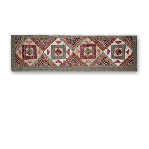 """Patch Magic Country Roads 54"""" Curtain Valance"""