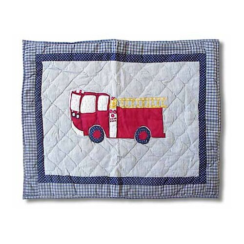Fire Truck Pillow Sham