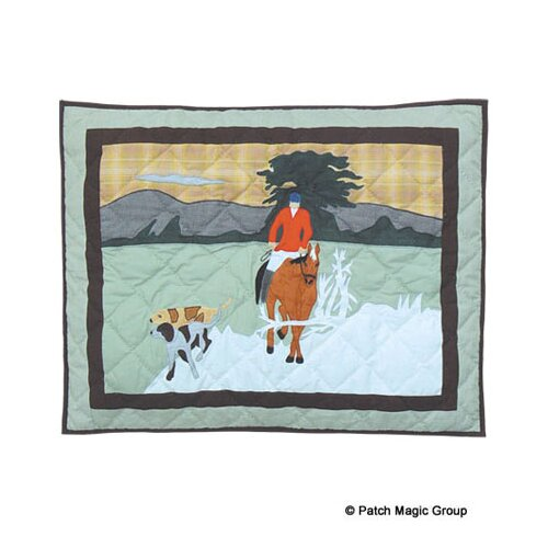 Fox Hunt Pillow Sham