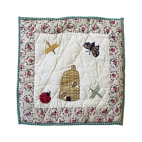 Garden Friends Toss Pillow