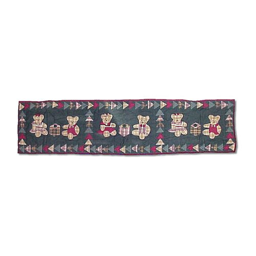 Patch Magic Ginger Teddy Table Runner