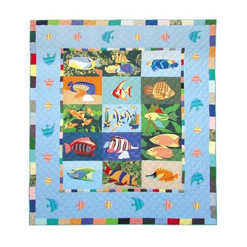 Patch Magic Ocean Schools Quilt