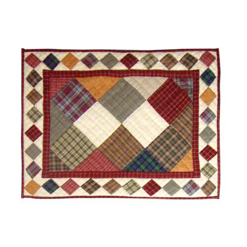 Patch Magic Rustic Cabin Pillow Sham