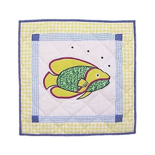 Patch Magic Summer Fun Fish Toss Pillow